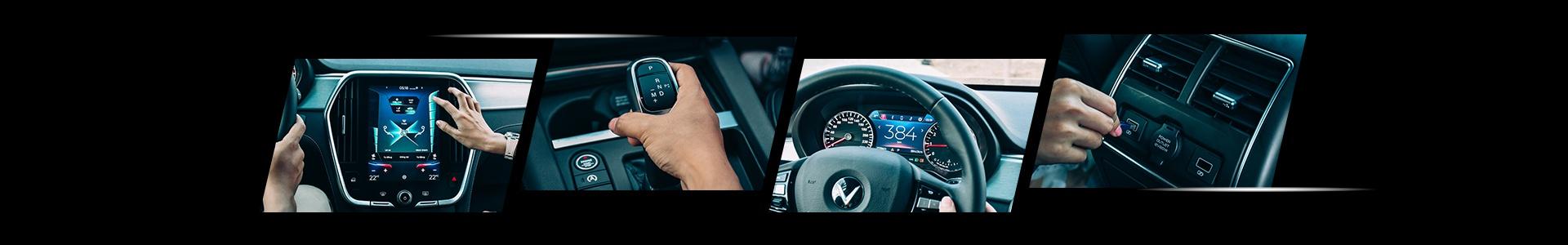 Nội thất xe vinfast Lux SA