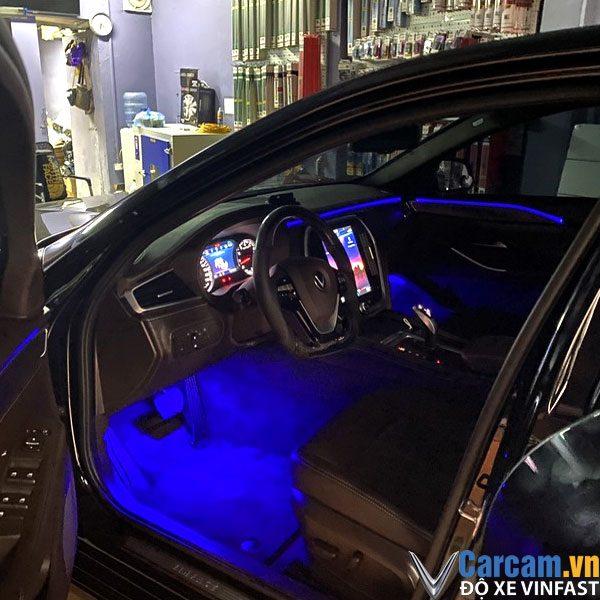 Leb viền nội thất xe Vinfast Lux A