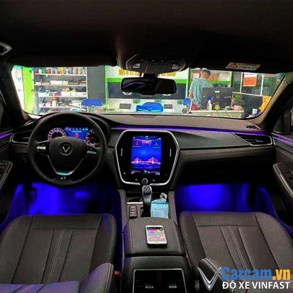 Độ led viền khoang xe Vinfast Lux A.