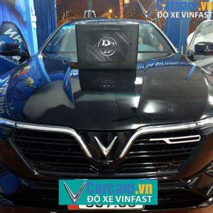 Lắp đặt loa sub DLS acw10 cho xe Vinfast
