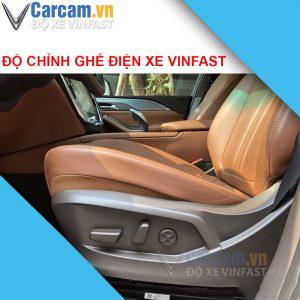 độ chỉnh ghế điện xe vinfast