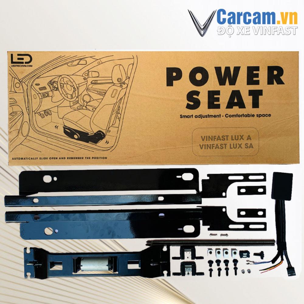 bộ ghế chỉnh điện xe vinfast tự động nhớ ghế