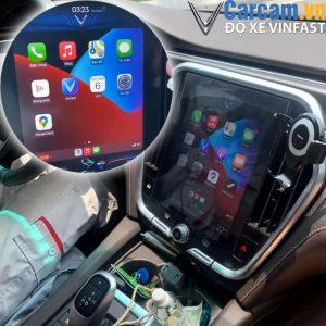 Cài đặt Apple Carplay cho màn hình xe Vinfast Lux